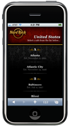 Hard Rock Mobile Concept